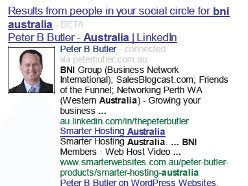Google Beta Testing Search Results… On… People In Your Social Circle…