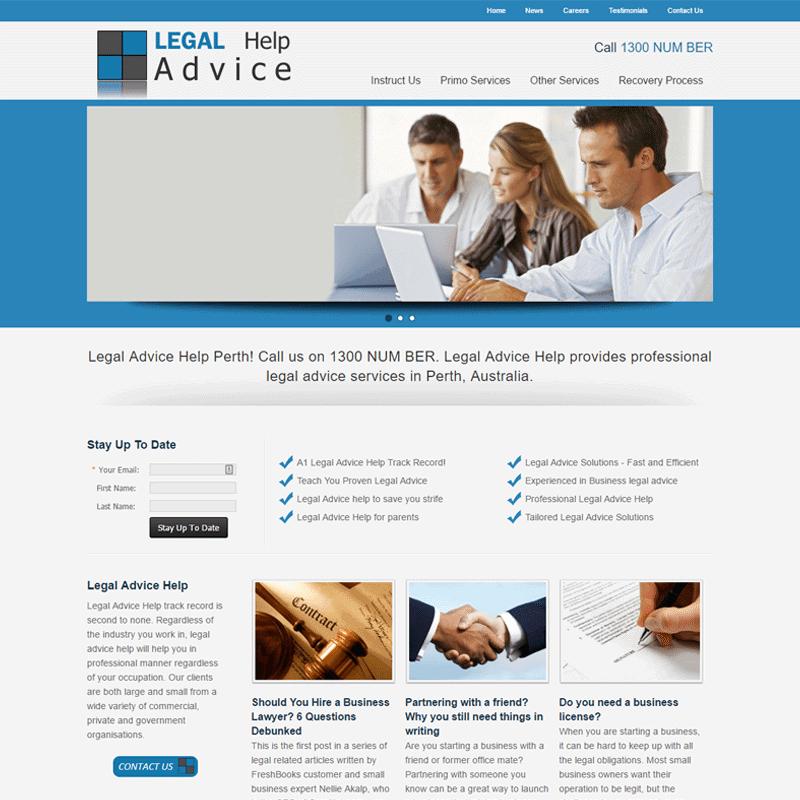 Legal Advice Help