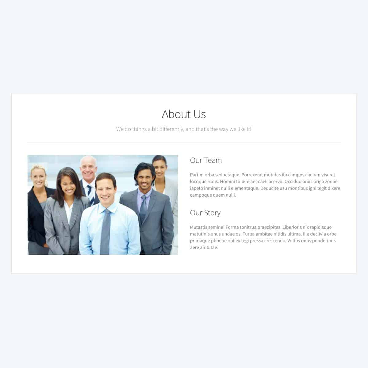 about-us-template