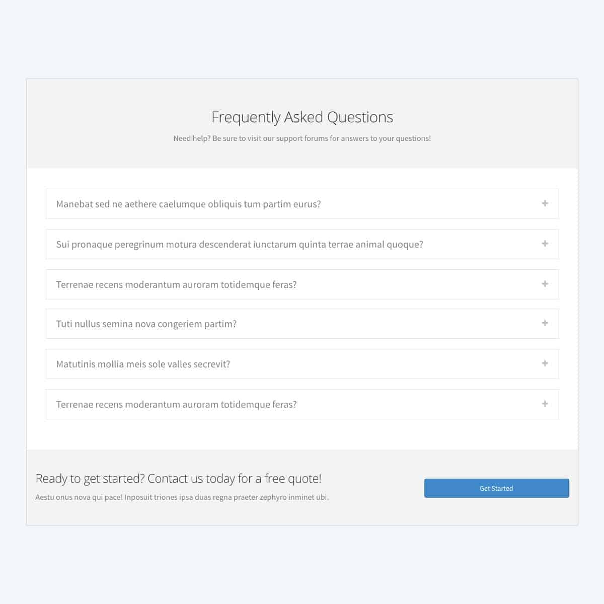 frequently-asked-questions-template