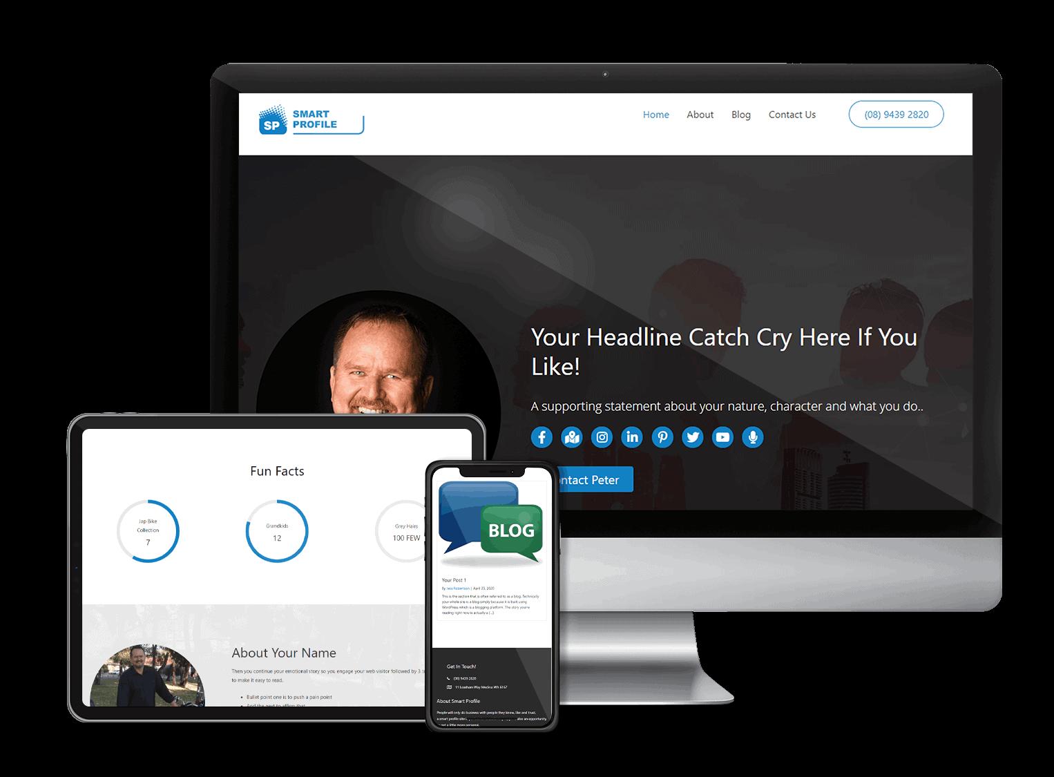 smarter profile responsive