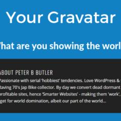 SW - How to Make a Gravatar