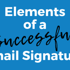 Your Email Signature